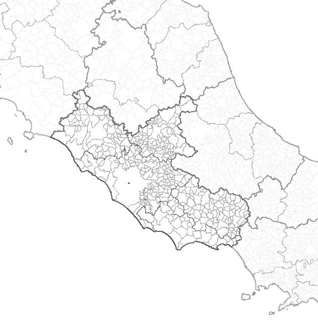 Cartina Roma E Provincia.Cartina Lazio Segretariato Regionale Lazio